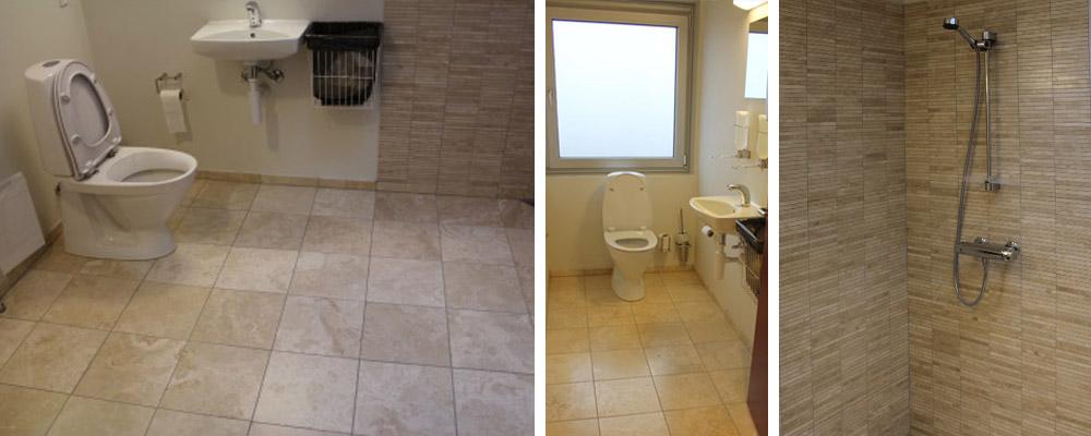 murermester badeværelse fliser dlisearbejde bruseniche brusekabine renovering