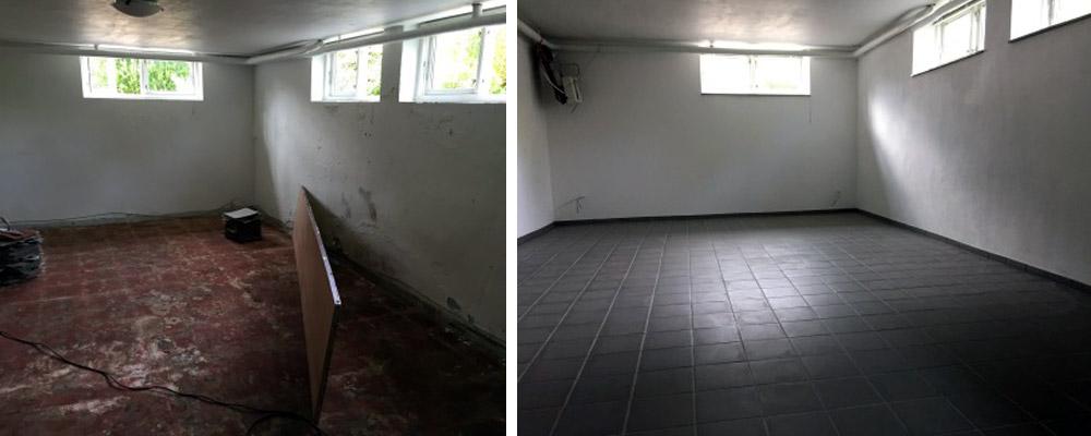 murermester flisegulv modernisering totalrenovering støbning gulv renovering
